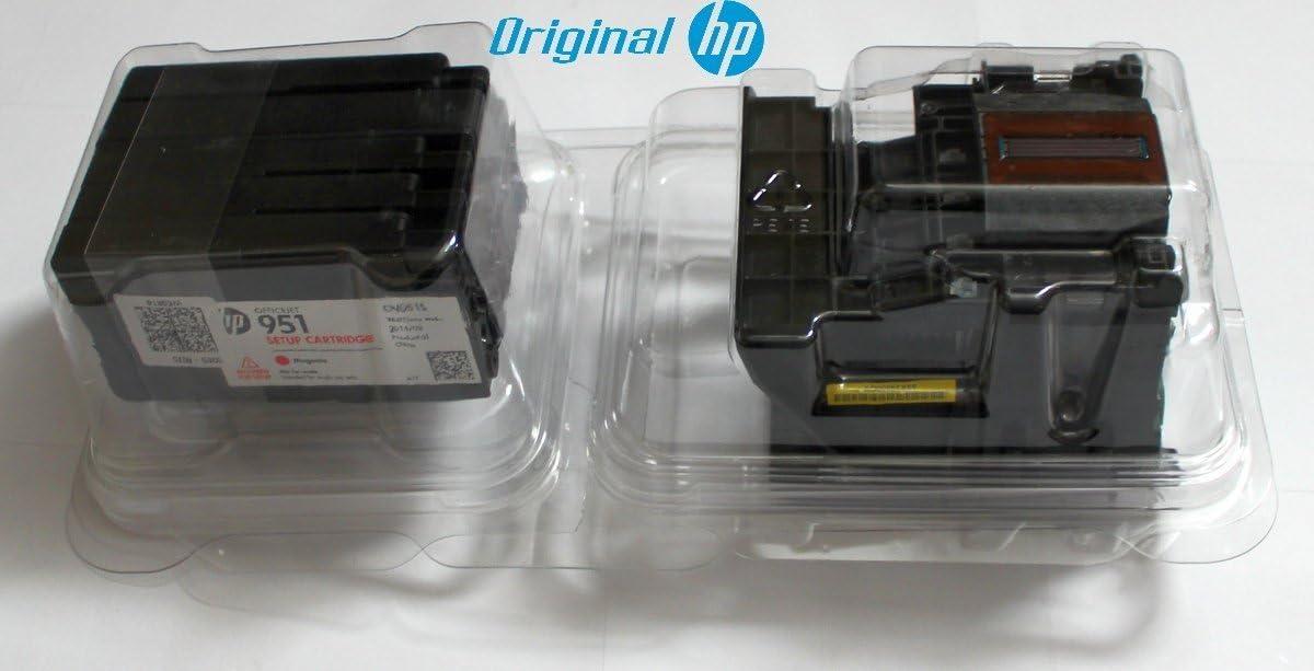 Original HP Cabezal de impresión (Incluye 4 Cartuchos HP 950/HP ...