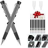 sahnah Multifunction LED Flash Pen Fingertips Spinner Relieve Stress Toys Hand Spinner Pen Office Stationery