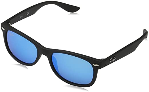 ray ban glasses uk  RAY BAN JUNIOR Unisex Kid\u0027s 9052S Sunglasses, black: Amazon.co.uk ...