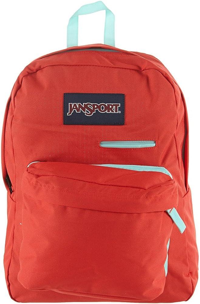 JanSport Digibreak Backpack – Coral Dusk 16.7 H x 13 W x 8.5 D