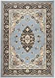 Buy Rugs NEW CHATEAU #16 LIGHT BLUE ORIENTAL MODERN ABSTRACT STYLE AREA RUG (2