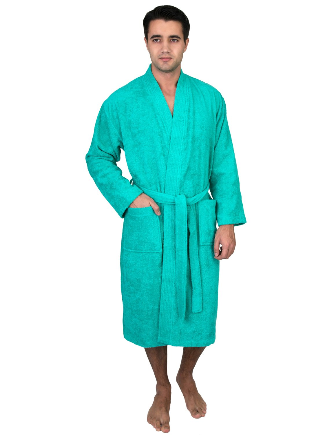 TowelSelections SLEEPWEAR メンズ B0145SA32C Medium / Large|Pool Green Pool Green Medium / Large