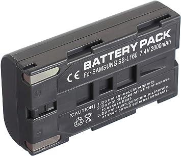 Battery Charger for Samsung SC-L700 SC-L750 SC-L710 SC-L770 Digital Video Camcorder
