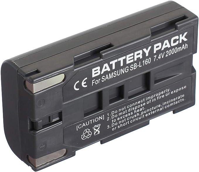Pack de batería + Cargador para Samsung SCL610, SCL630, SCL650 ...