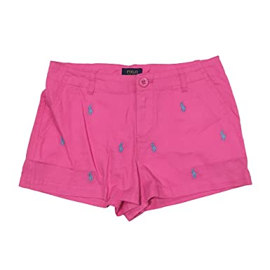 timeless design 7f5ab d587f Amazon.com: Polo Ralph Lauren Girl's Multi Pony Short Pants ...