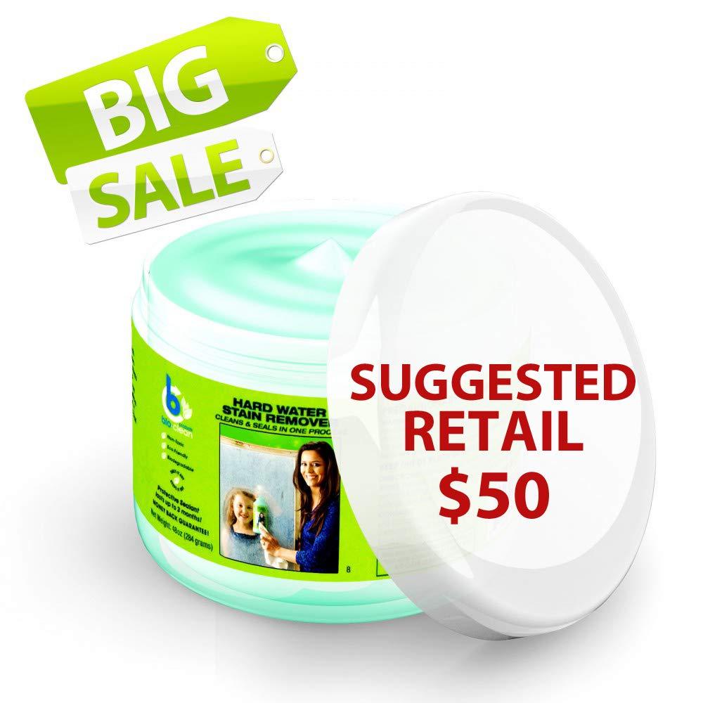 Amazon.com: Bio Clean: Eco Friendly Hard Water Stain Remover (48Oz ...
