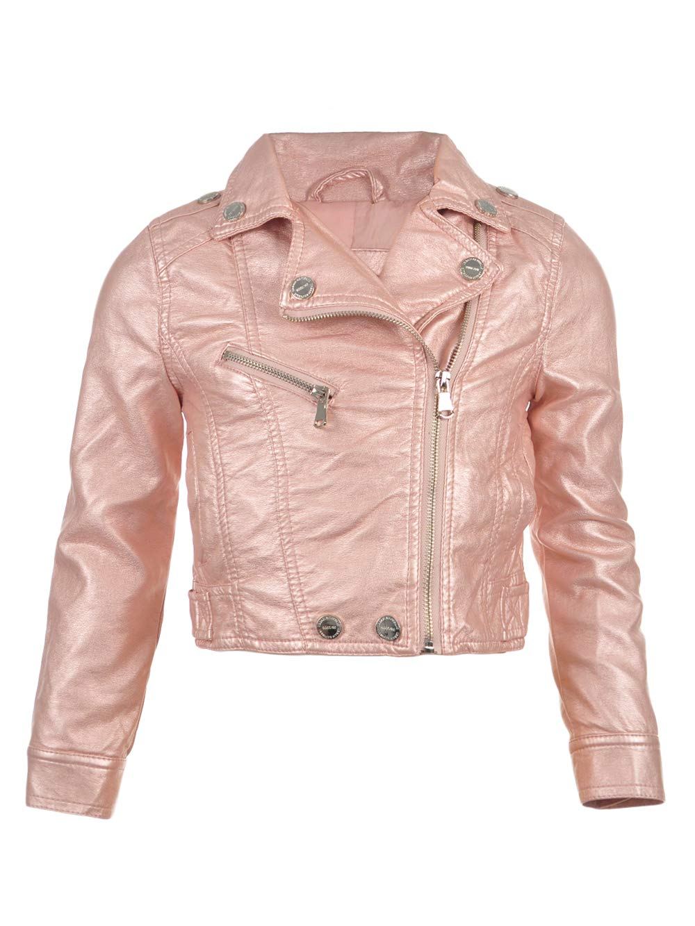 Urban Republic Baby Little Girls' Toddler Moto Jacket - Rose, 4t by Urban Republic
