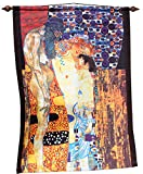 RaanPahMuang Brand Wall Hanging Tapestry Print of Famous Works of Art, Gustav Klimt - Mother and Child