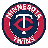 MLB Minnesota Twins Rounded Non-Skid Mat Area Rug