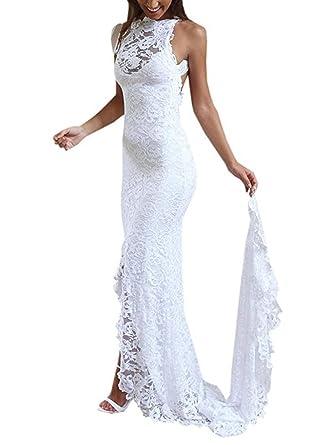 Meerjungfrau kleid ruckenfrei