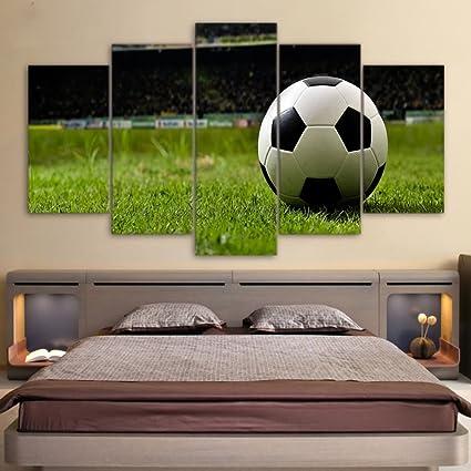 Amazon.com: Canvas Painting Kit Football Sports Canvas Wall ...