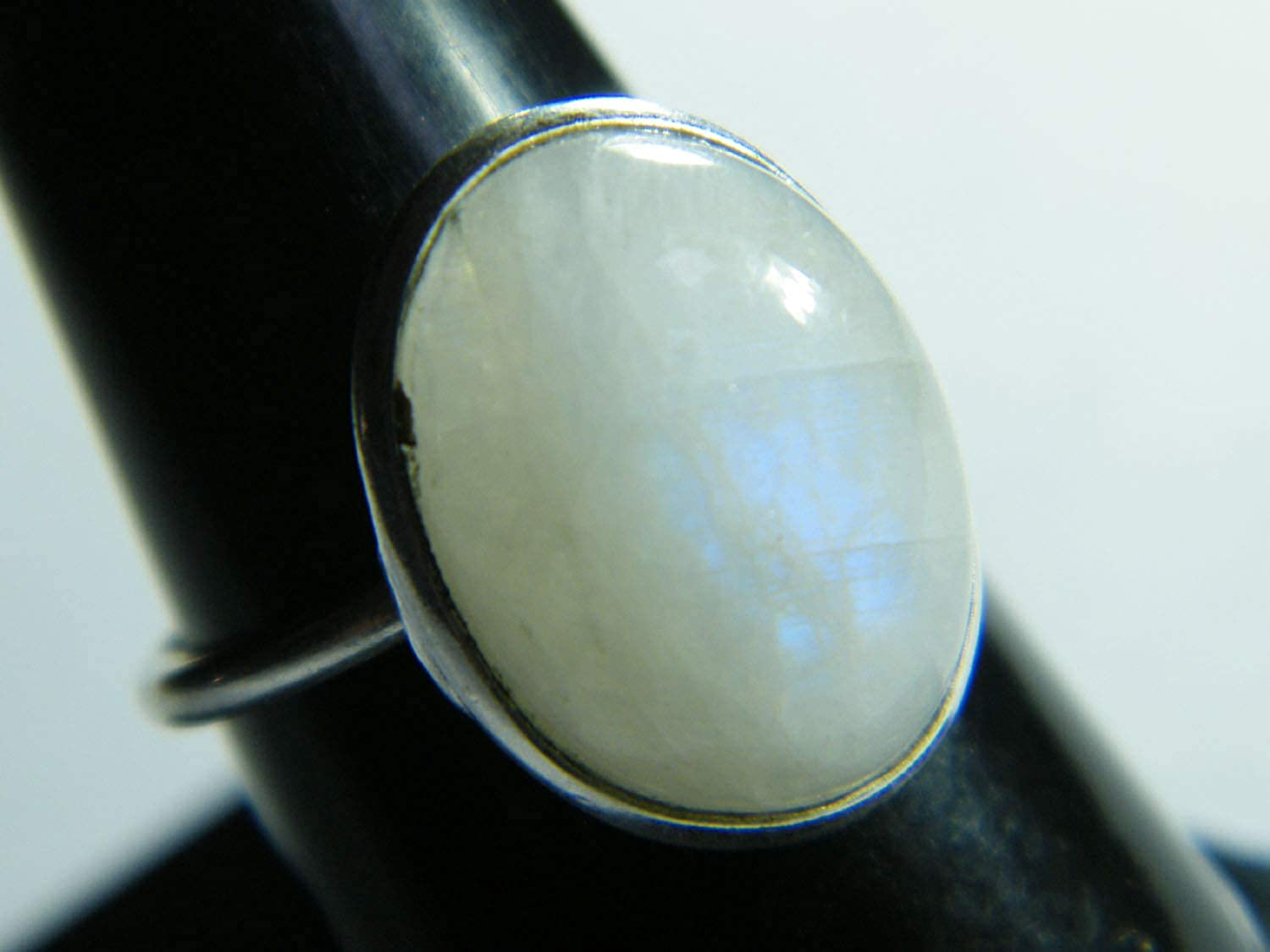 Silver Plated Ring Women Jewelry BRS-4127 Gemstone Ring Thebestjewellery Moonstone Ring Handmade Ring Size- 7.75 USA