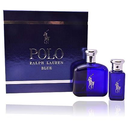 Ralph Lauren Polo Blue Set de Regalo - 2 Piezas: Amazon.es: Belleza