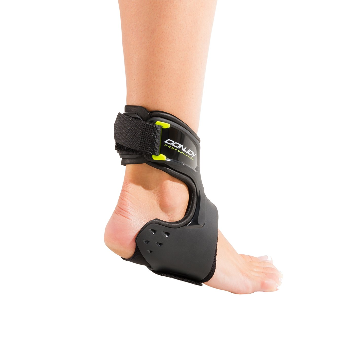DonJoy Performance POD Ankle Brace, Best Support for Stability, Ankle Sprain, Roll, Strains for Football, Soccer, Basketball, Lacrosse, Volleyball -Medium- Right - Black by DonJoy Performance (Image #3)