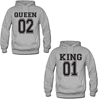 Coppia di Felpe King & Queen Varsity