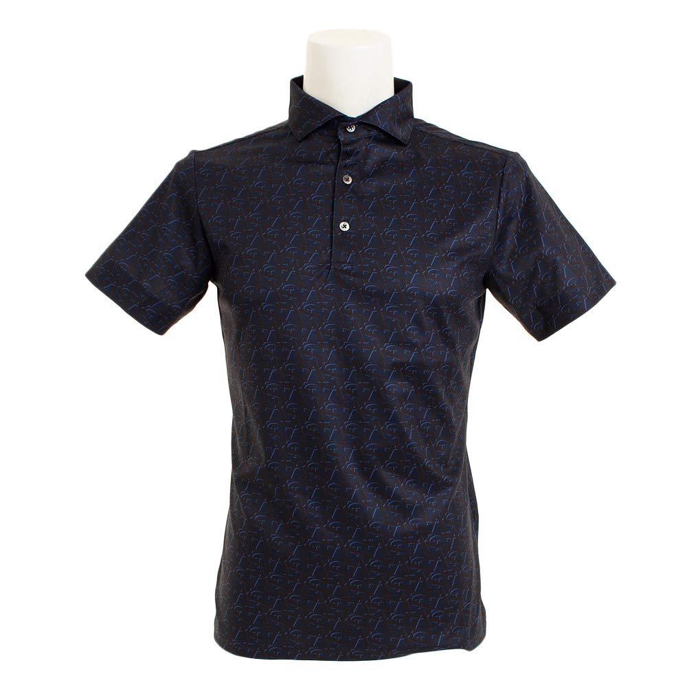 セントアンドリュース(セントアンドリュース) White Label COOL STAプリントシャツ 042-9160457-120 L ネイビー B07PCGQNRW
