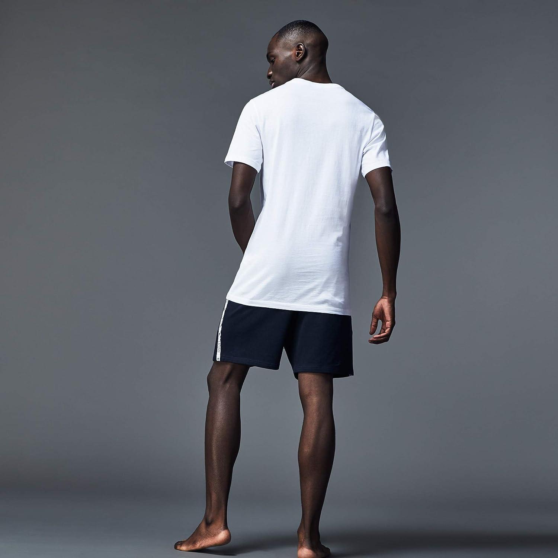 Lacoste Mens 3 Pack Slim V Neck Tee T-Shirt