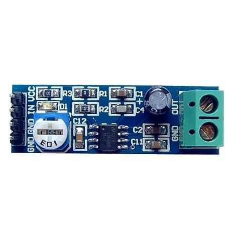 Aiming Circuitos de la Placa del módulo LM386 200x Ganancia de Potencia Módulo Amplificador de Audio