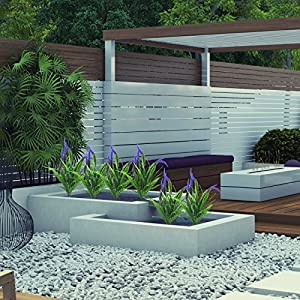 Artificial Flowers 4pcs Faux Plastic Plants Shrubs Simulation Greenery for Wedding Garden Farmhouse Outdoor décor 4