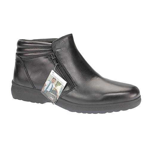 Ara Men 11 - 26902 - 61 Oslo Hombre Botines Cordero Negro, Color Negro, Talla 45 UE: Amazon.es: Zapatos y complementos