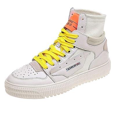 Fashion Street Dance High-Top Women's Shoes Flat Non-Slip Student Hip-Hop Shoes: Toys & Games