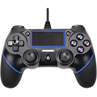 Innoo Tech PS4 Controller, Wired Remote Controller for Playstation 4 Dual Vibration Shock Joystick Gamepad for PS4/PS4 Slim/PS4 Pro and PC with 6ft Long USB Cable …