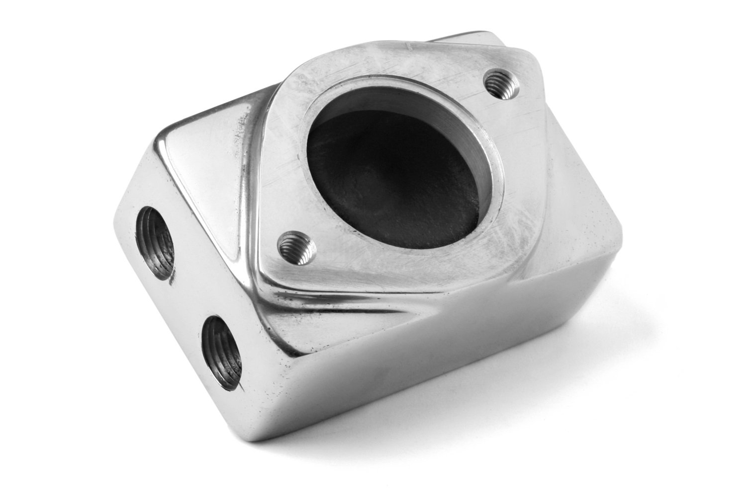 Weiand 7134P 6-71/8-71 Supercharger Remote Thermostat Housing by Weiand