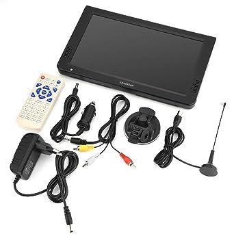 10 Pulgadas Digital Televisores Analógicos DVB-T-T2 1024x600 Resolución Portátil TV Enchufe de UE: Amazon.es: Industria, empresas y ciencia