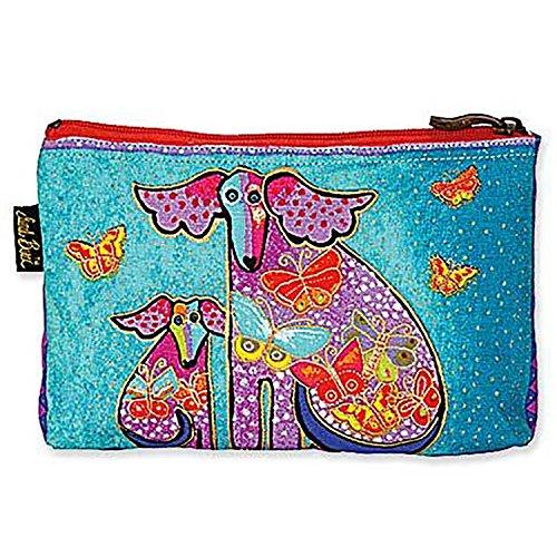 Laurel Burch Dog Tales Cosmetic Bag (Laurel Design)