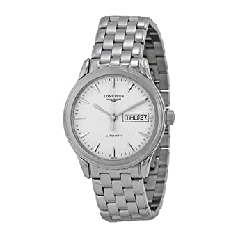5ec2bbdb19423 Image Unavailable. Image not available for. Color  Longines Flagship  Automatic Stainless Steel Mens Watch L47994126