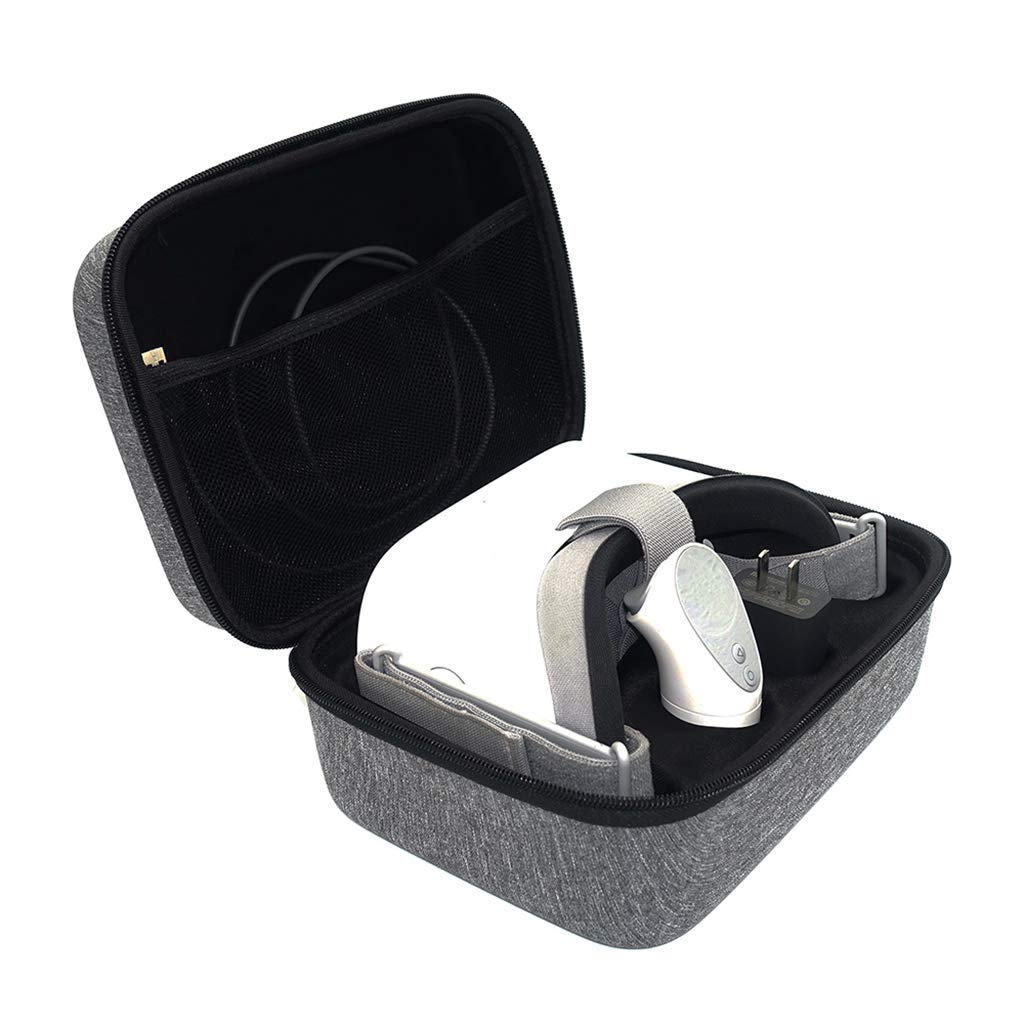 MagiDeal Virtual Reality Eyewear 3D Glasses Hard Carry Case Bags Xiaomi VR Gray by Unknown (Image #5)
