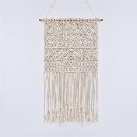 Samber Hand-knit Macrame Wall Hanging Tapestry Woven Craft Hanging ...