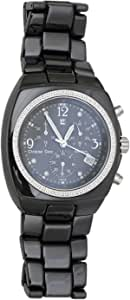 Christian Geen Analog Watch For Men - Stainless Steel, Black - 4202Gbrw-Wh