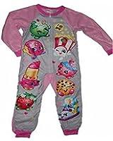 Shopkins Girls Union Suit Pajamas