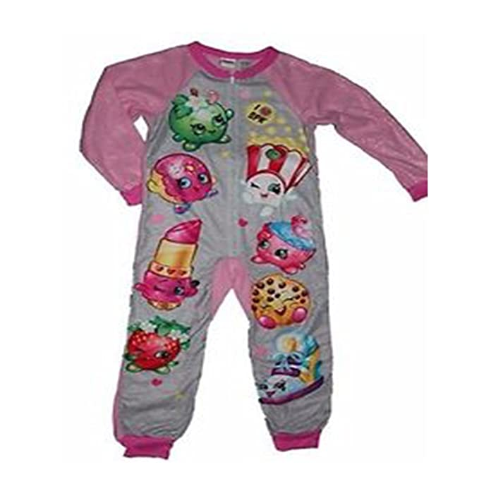Shopkins Girls Union Suit Pajamas (S (6/6x))