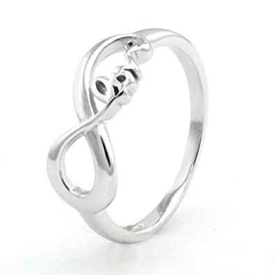 Amazon Sterling Silver Infinity Love Ring Infinity Symbol Love