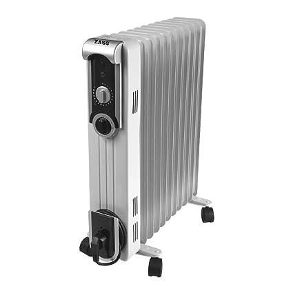 Radiador eléctrico con aceite zass ZR 11 SL unidades de 1pz