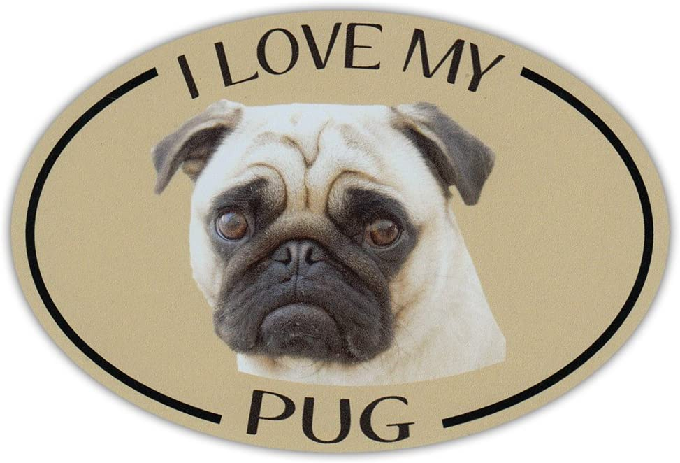 * Magnet I Love My Wife Magnetic Bumper Sticker