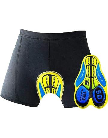 Mysenlan Uomo Mutande da Ciclismo Pantaloncini Biancheria Intima con 3D Imbottito Intimo per Bici Underwear