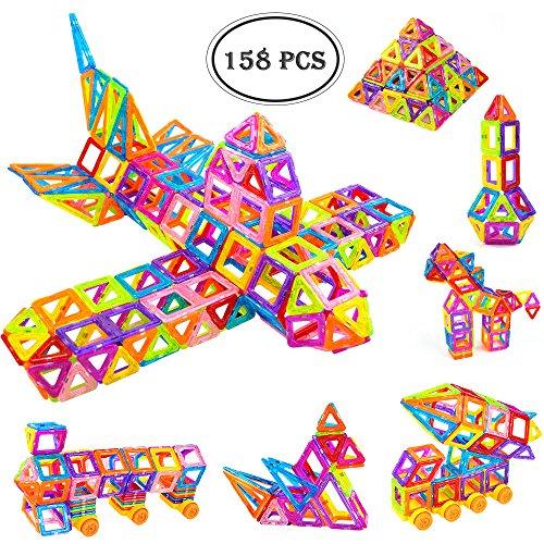 Tumama Magnetic Building Blocks Models Juguetes de construcción (158PCS): Amazon.es: Juguetes y juegos