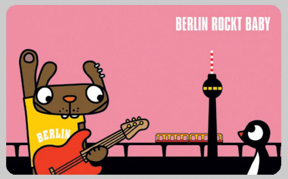Lololand verschiedene Berliner Motive Frühstücksbrettchen Bambi