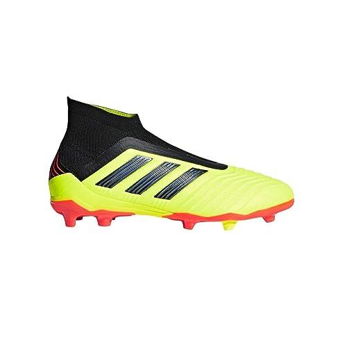 adidas Predator 19.3 FG J BlueBlackYellow Youth Soccer