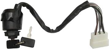 Ignition Switch /& Key For Kawasaki Mule 500 550 2500 2510 2520 2010 2020 2030