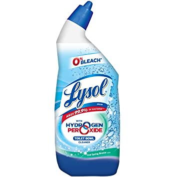 Amazon Com Lysol Bleach Free Hydrogen Peroxide Toilet Bowl Cleaner