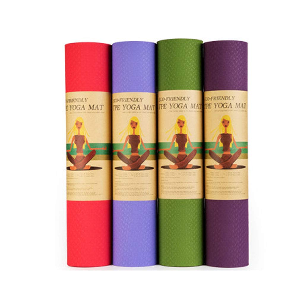 Amazon.com : Numkuda Yoga Mat Thick Pilates Fitness Cushion ...