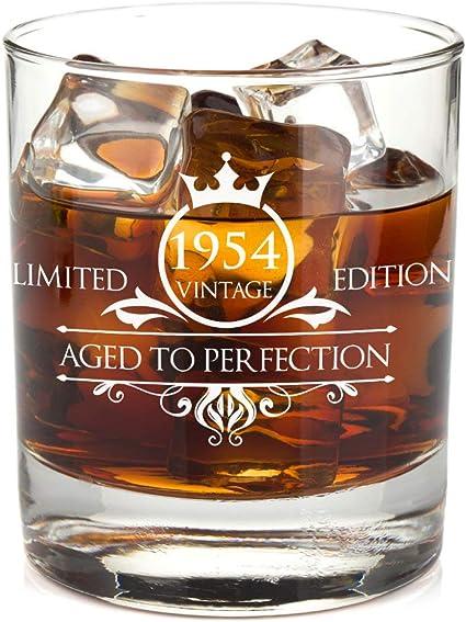 1954 65 cumpleaños regalos para mujeres y hombres Whiskey ...
