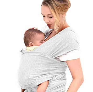 a27dba566fa Amazon.com   Baby Wrap Carrier - Wrap for Baby - Babys Wrap Carrier ...