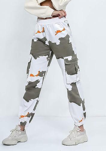 Pantalon Longue Cargo Femme Fashion Sport Eté Printemps PZOkTwXiu
