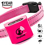 Small Dog Bark Collar Rechargeable For Tiny To Small Dogs (5+ lbs) with Short-Hair - Vibration No Shock Collar - Humane Anti Bark Training Device - Best No Bark Control Collar - Stop Barking Collar