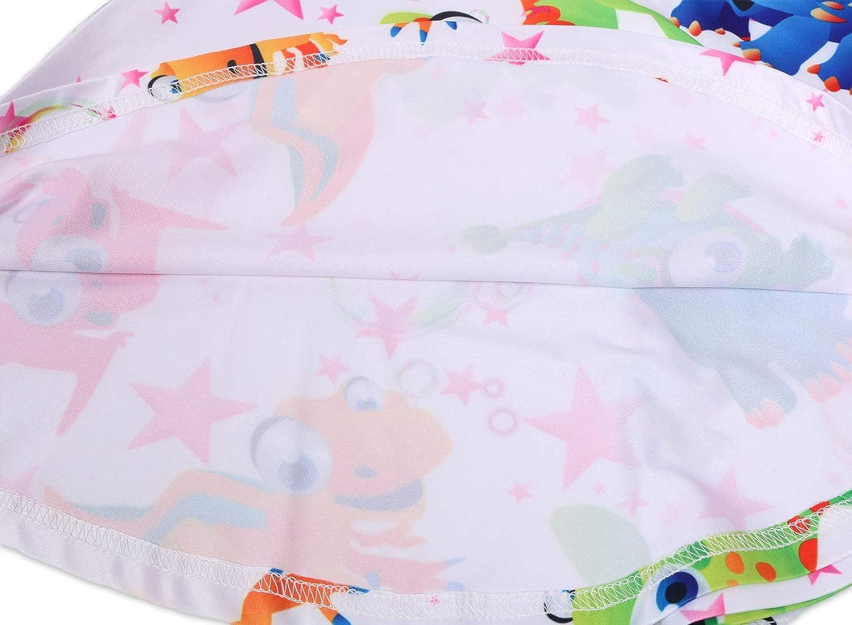Girls Dress Unicorn Mermaid Dinosaur Princess Cartoon Print Party Kids A-line Sundress